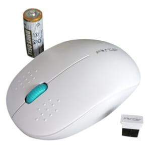 Chuột không dây Forter V181 (White)