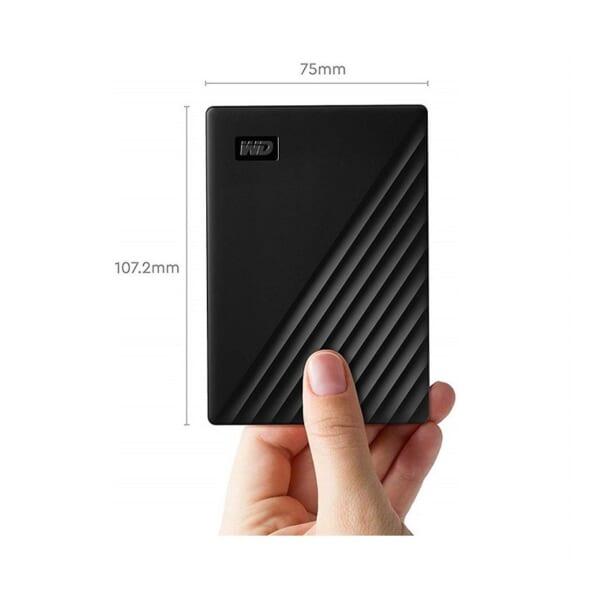 Ổ Cứng Di Động WD My Passport 1TB 2.5 inch USB 3.0 đen – WDBYVG0010BBK-WESN